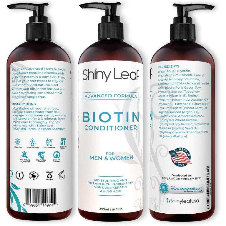 Biotin Conditioner All Views