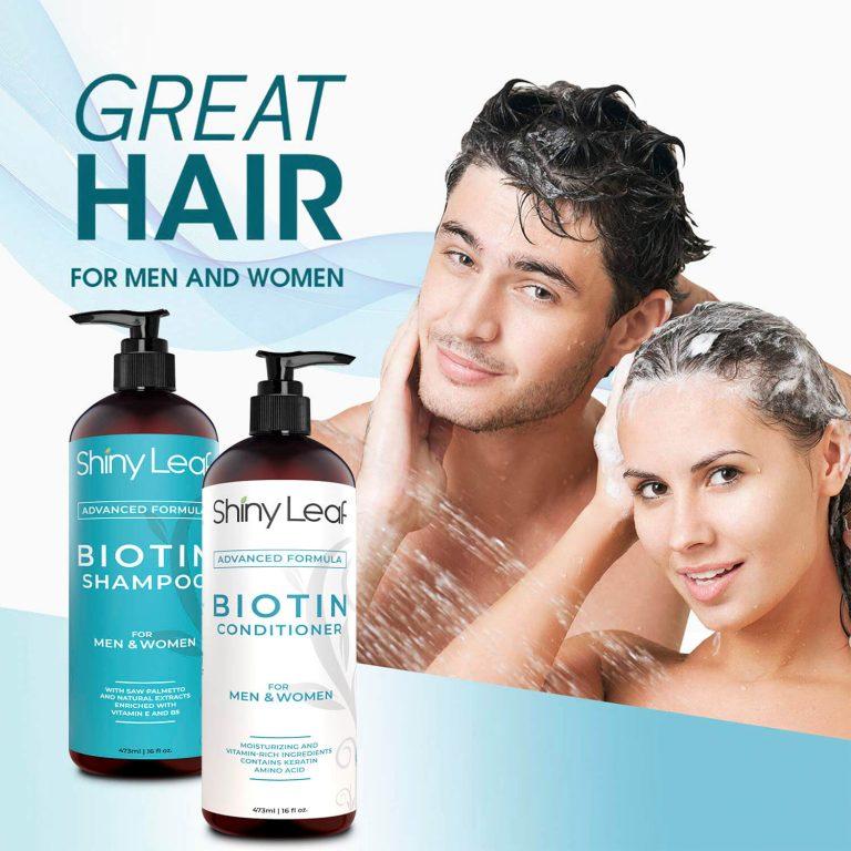 Biotin Shampoo and Conditioner for Men & Women