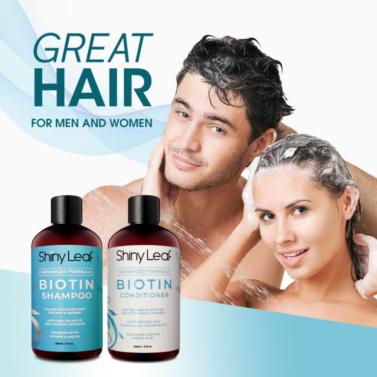 Biotin Set for Men and Women 8 oz