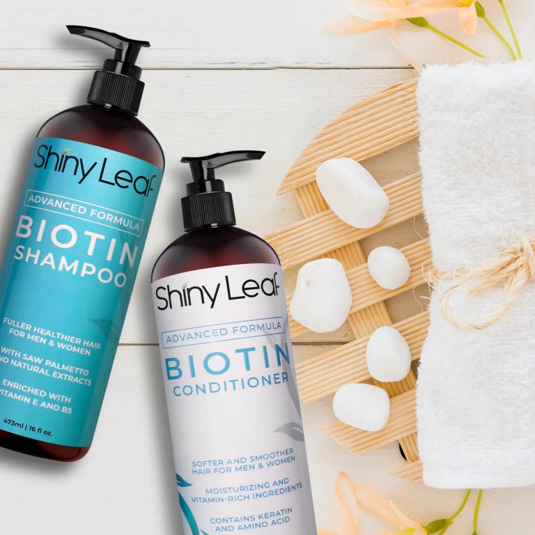 Biotin Shampoo and Conditioner 16 oz with Pump