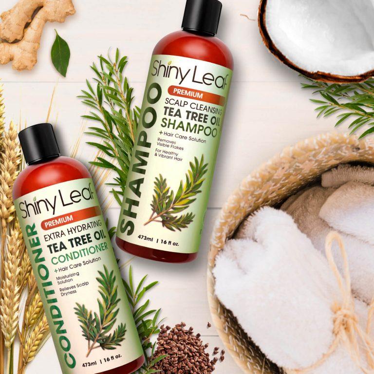 Anti Dandruff Tea Tree Oil Shampoo and Conditioner 16 oz