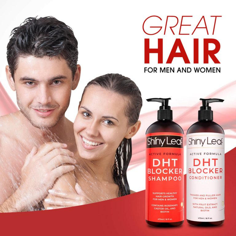 Anti Hair Loss DHT Blocker Set for Men and Women