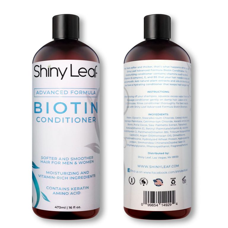 Biotin Conditioner Front and Back