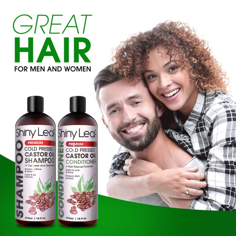 Castor Oil Shampoo & Conditioner - For Men & Women