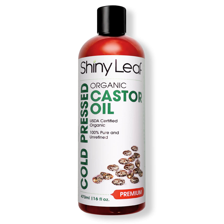 Cold-Pressed Castor Oil 16 oz