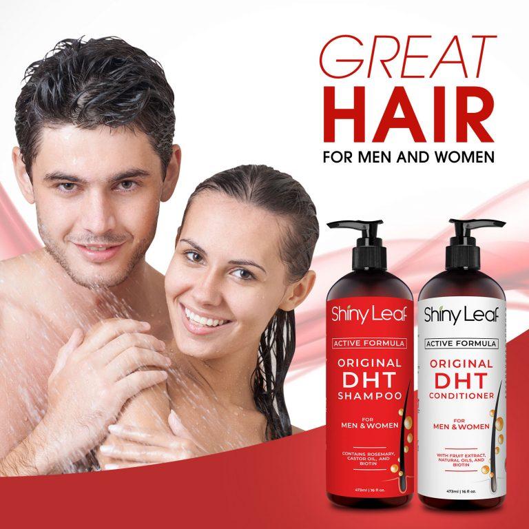 Anti-Hair Loss DHT Blocker Set for Men & Women