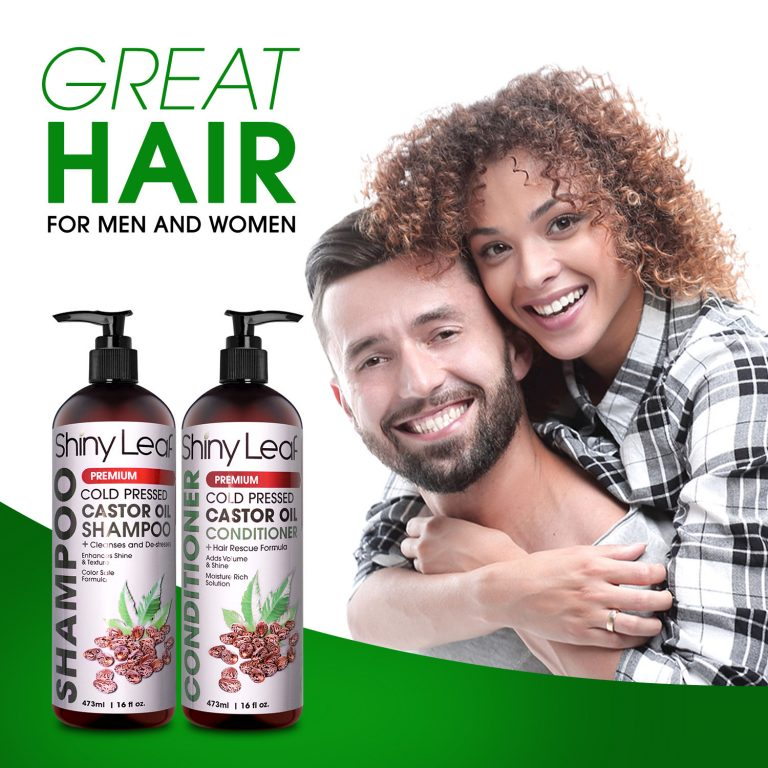 Castor Oil Shampoo & Conditioner - For Men & Women