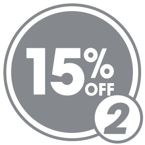 Save 15% Now & Forever