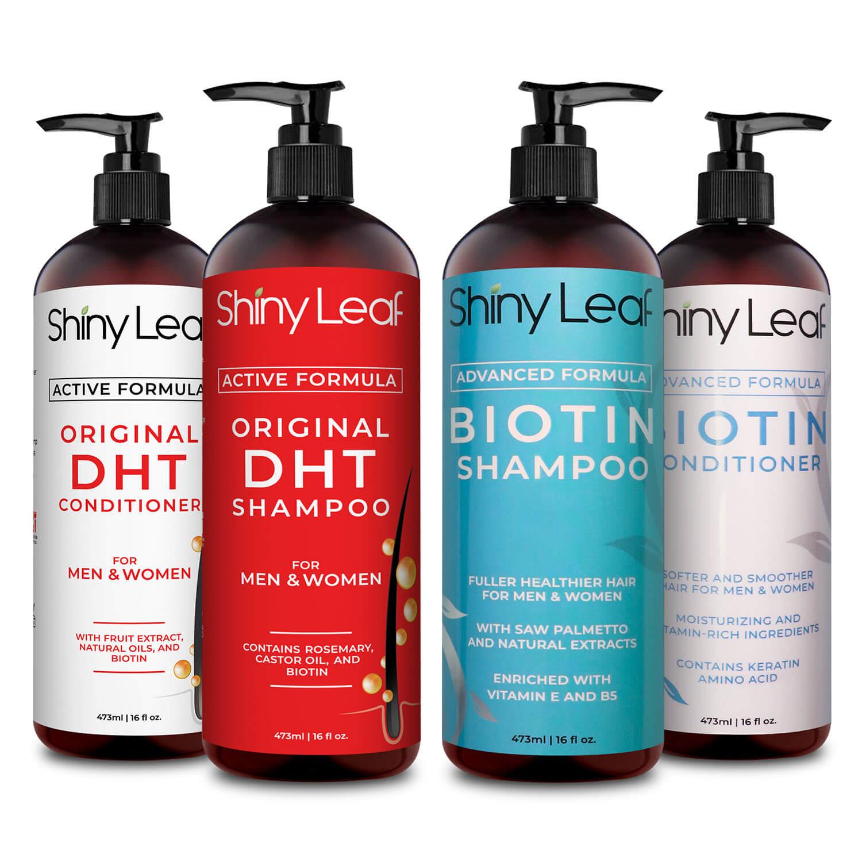 DHT Blocker and Biotin Hair Growth Bundle