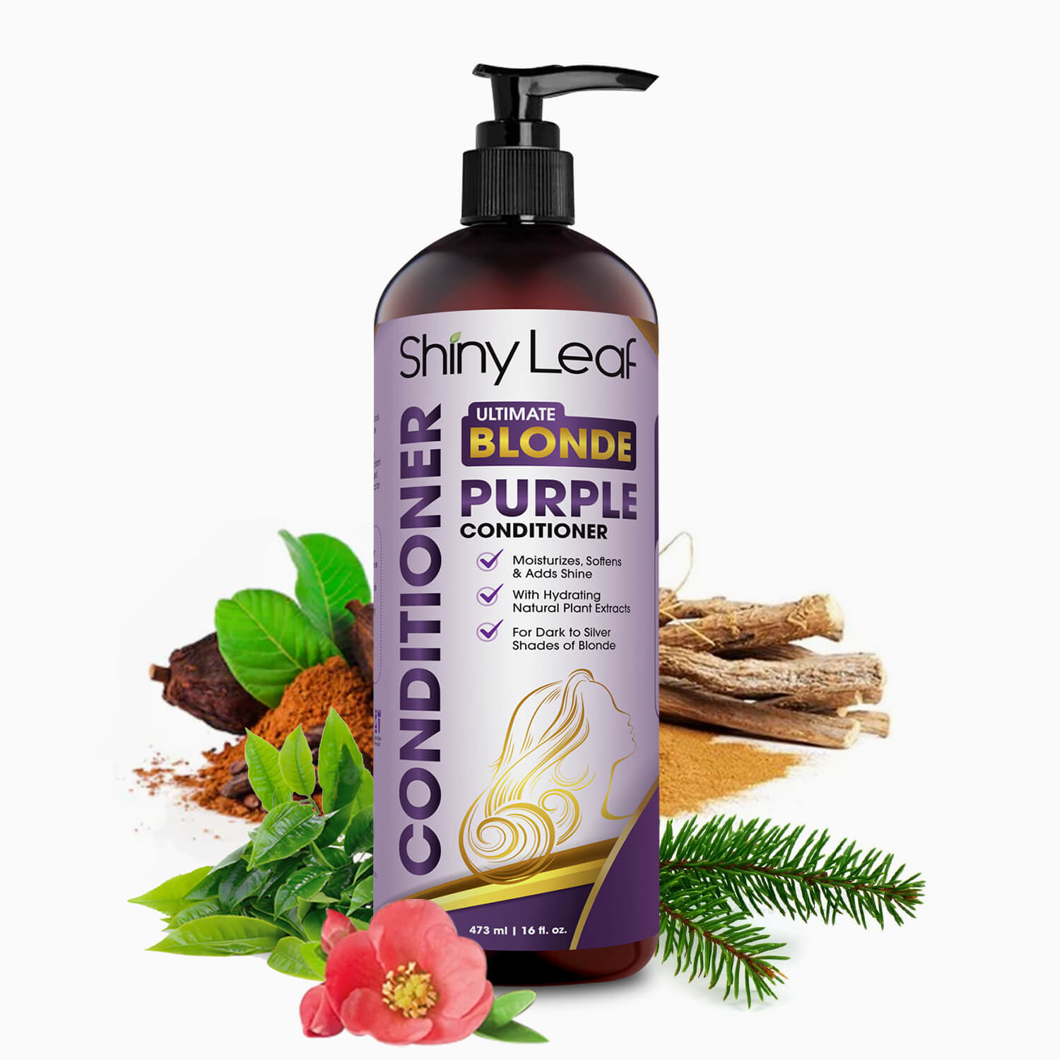 Purple Conditioner Natural Ingredients