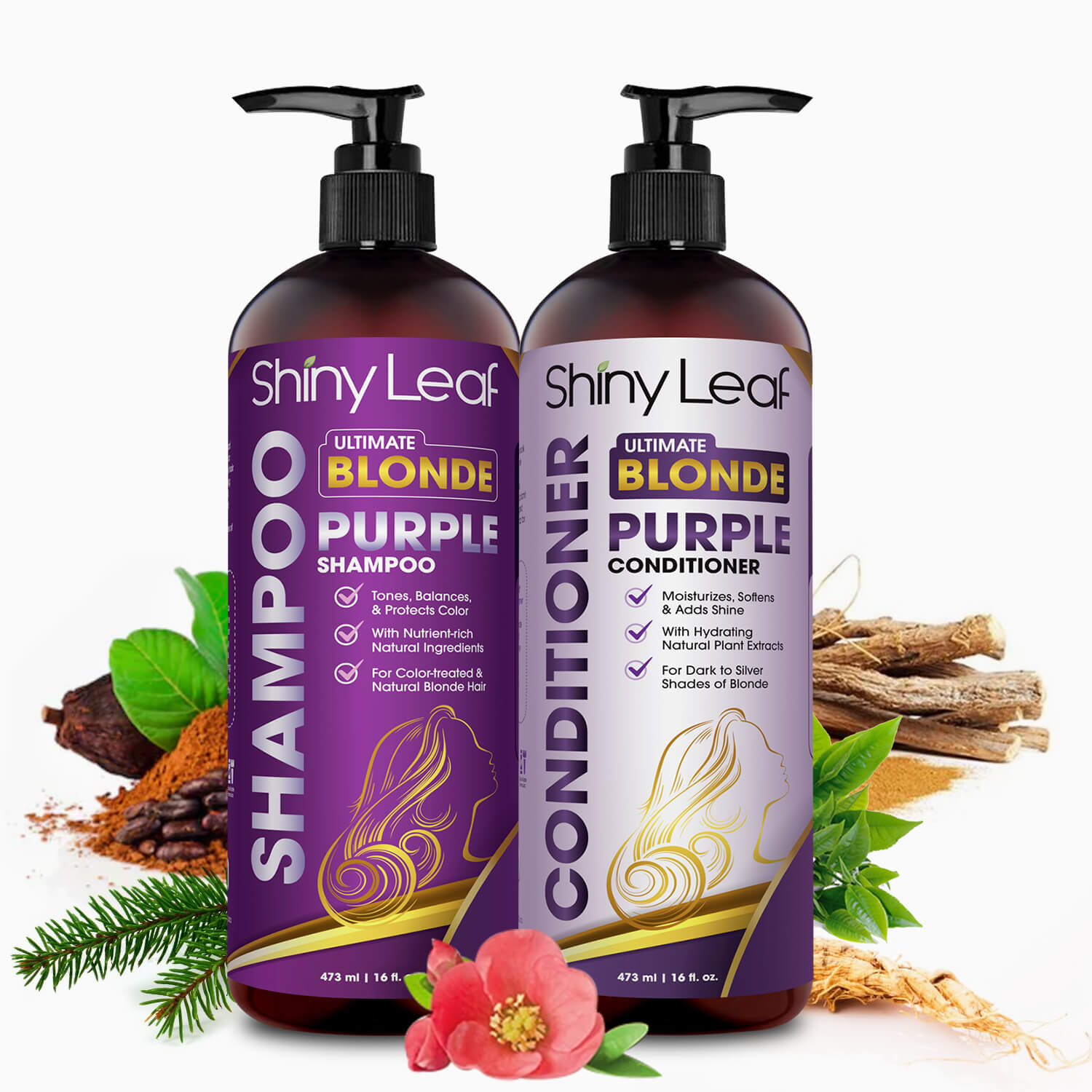Purple Set Natural Ingredients