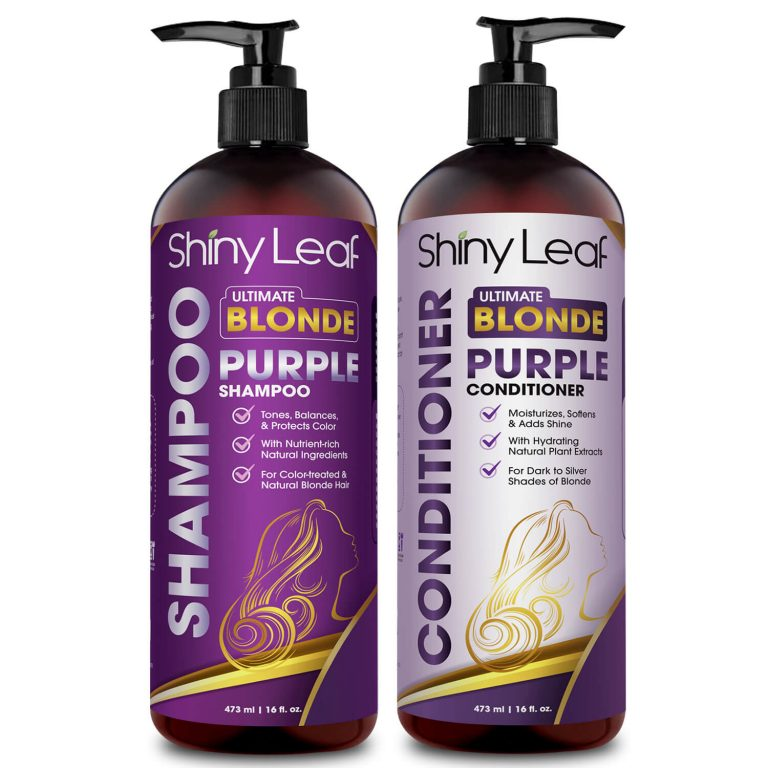 Purple Shampoo and Conditioner Set