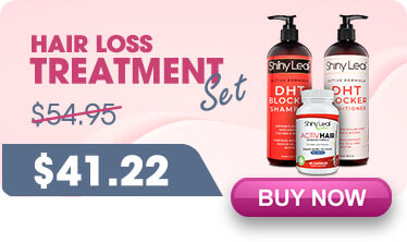Hair loss treatment set