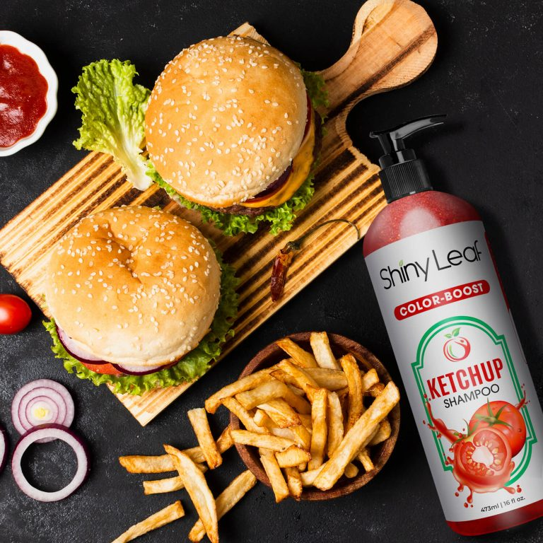 Ketchup Shampoo for Burgers & Fries