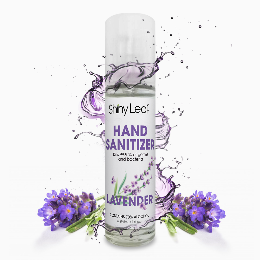 Hand Sanitizer with Lavender Oil