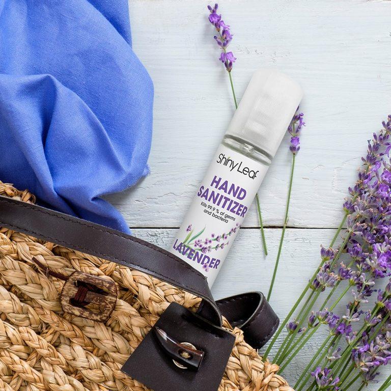 Lavender-Infused Hand Sanitizer