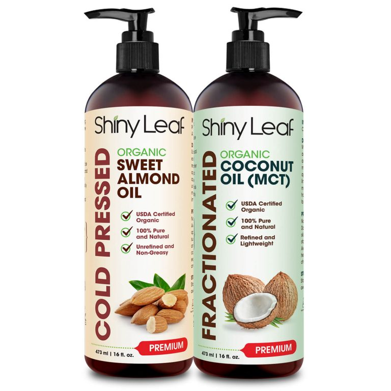 Almond Oil and Coconut Oil Bundle 16 oz