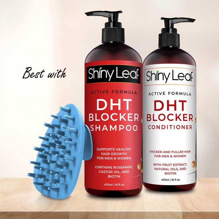 Best with Shiny Leaf Haircare Collection - Blue