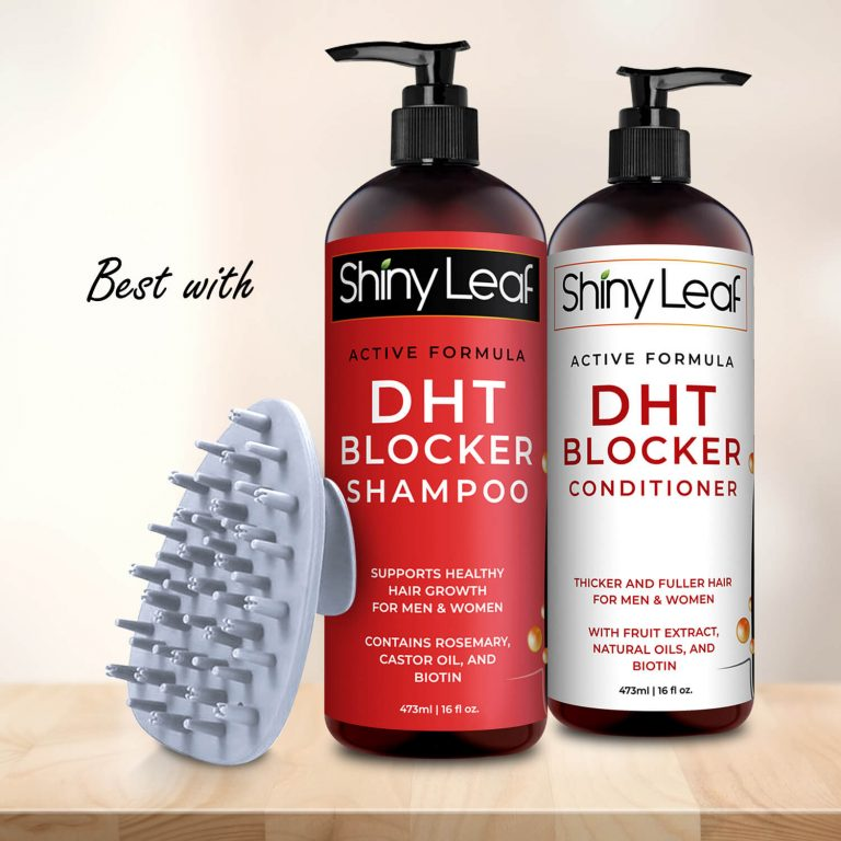 Best with Shiny Leaf Haircare Collection - White