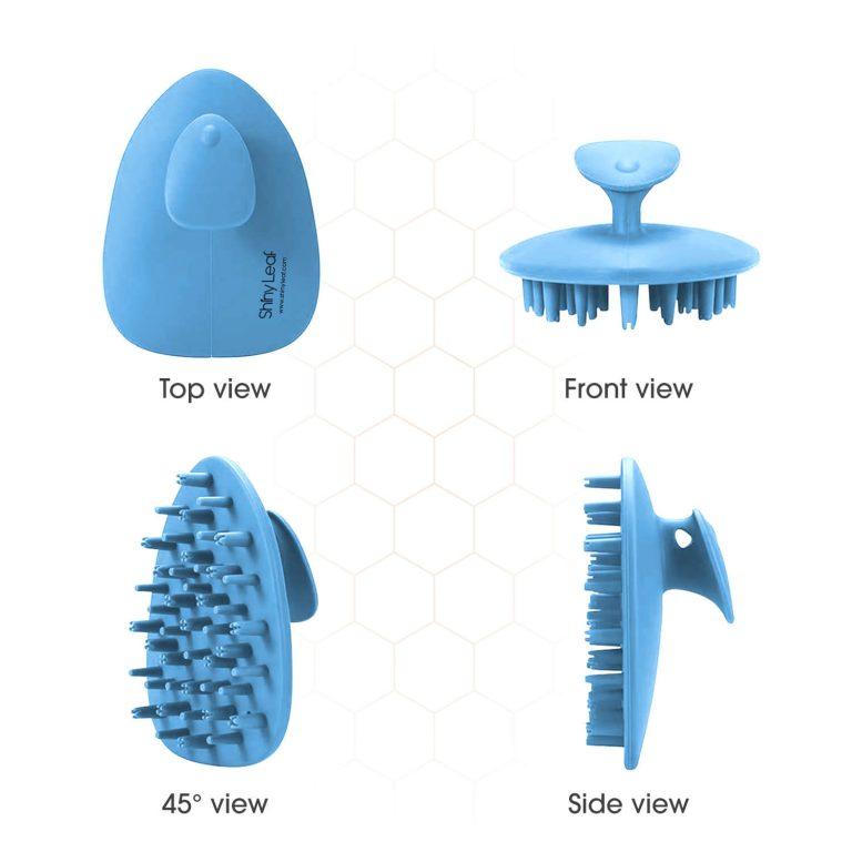 Scalp Brush Perspective - Blue