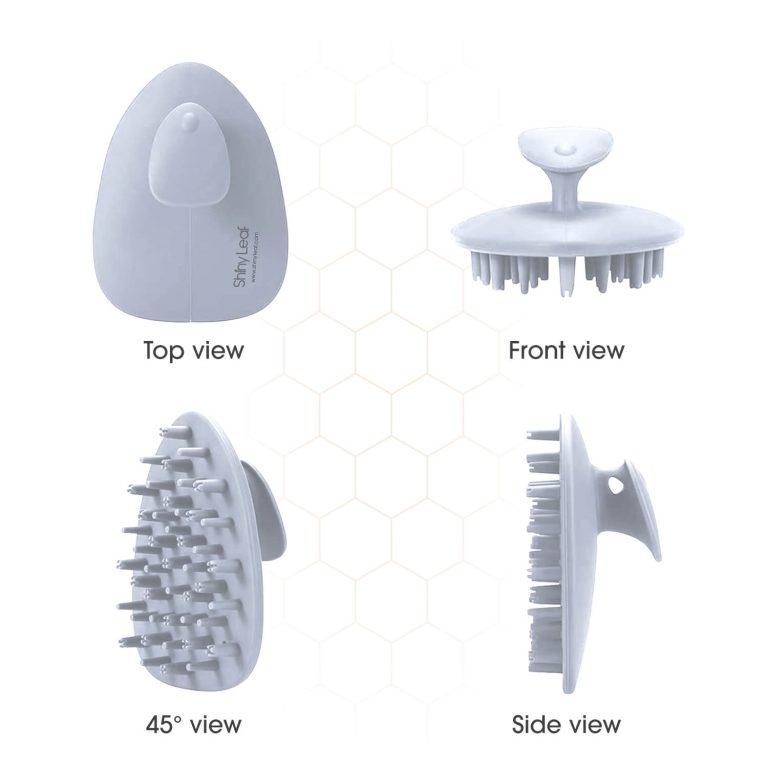 Scalp Brush Perspective - White