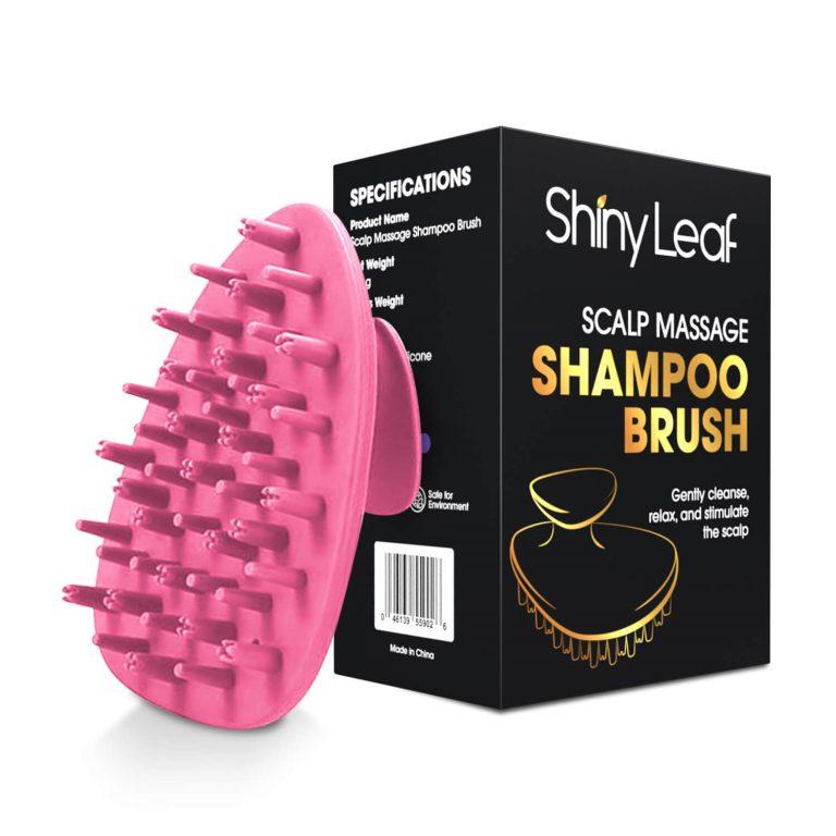 Scalp Massage Shampoo Brush Pink