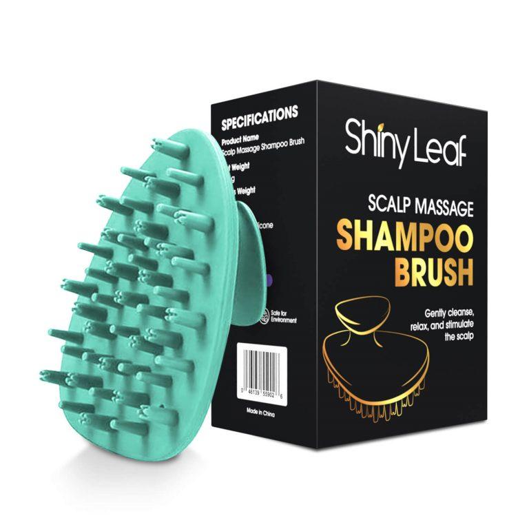 Scalp Massage Shampoo Brush Turquoise