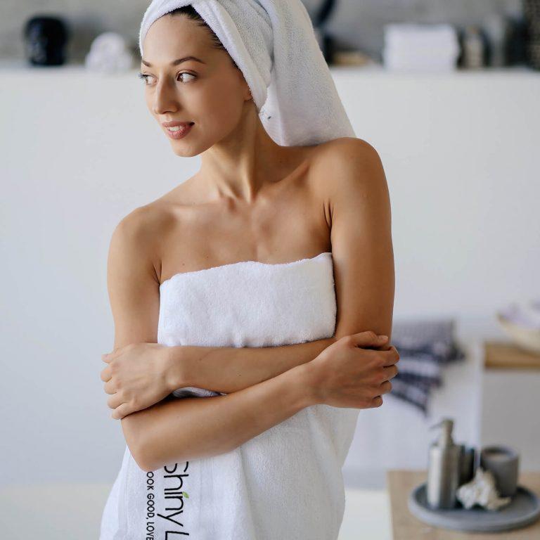 Skin-Caring Bath Towel