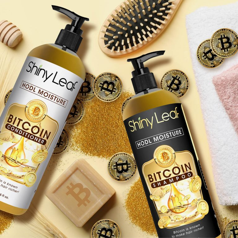 Bitcoin Shampoo and Conditioner for Daily Routine