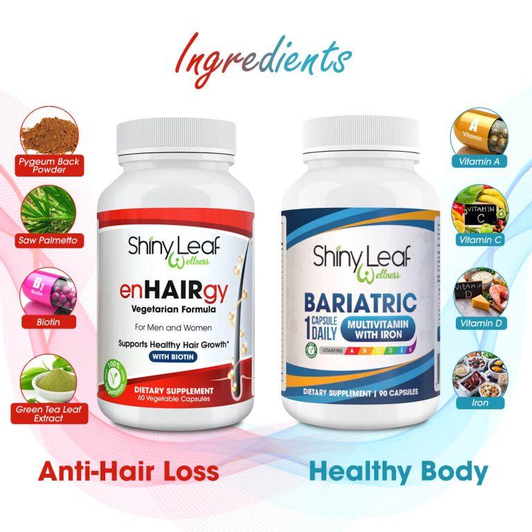 Bariatric Enhairgy Supplements Natural Ingredients