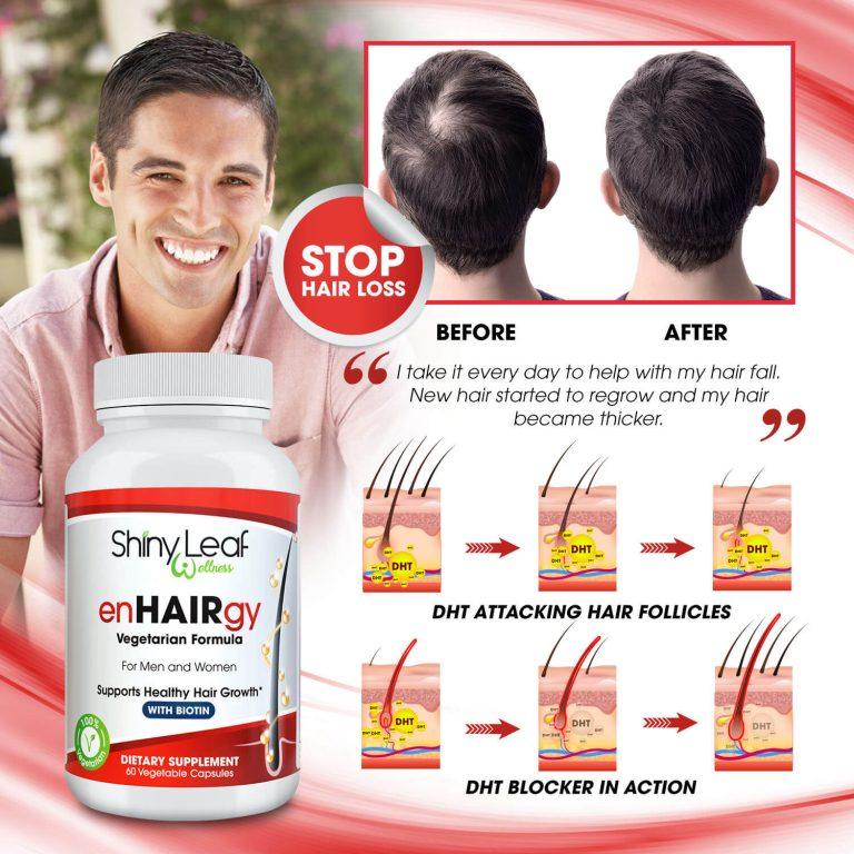 Hair Loss Treatment DHT Blocker Capsules